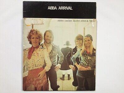 Lot 2 Abba 1974 Waterloo 1976 Arrival Oringinal LP Vinyl Record VG