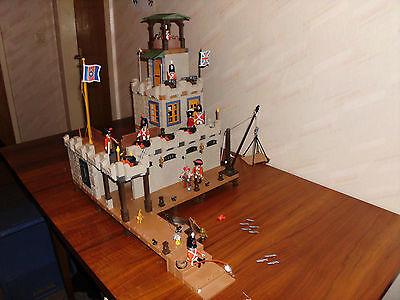 Playmobil 3112 Festung XXL Fort Soldado Jail Prison Soldatesque Sammlung Piraten