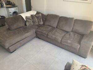 FREE Suede Sofa