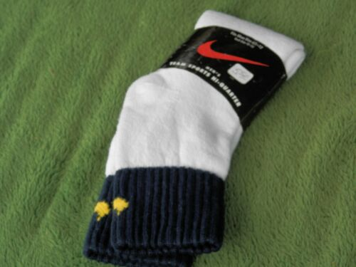 Vintage NOS Nike Swoosh Team Sports Hi-Quarter Socks Estate Find