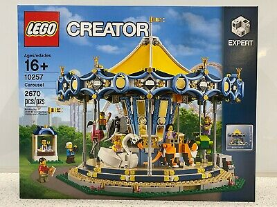 LEGO Creator Carousel 2017 (10257) - New in Sealed Box NIB