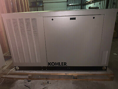 Kohler 30rcl-qs2 30kw Liquid Cooled 120208v 3 Phase Commercial Grade Generator