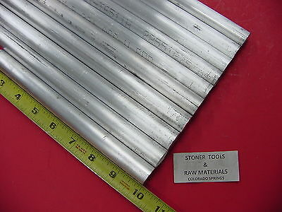 5 Pieces 34 5 Pieces 58 Aluminum 6061 Round Rod 10 Long T6 Solid Bar Stock