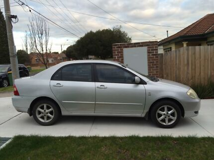 2002 Toyota Corolla Sedan Preston Darebin Area Preview