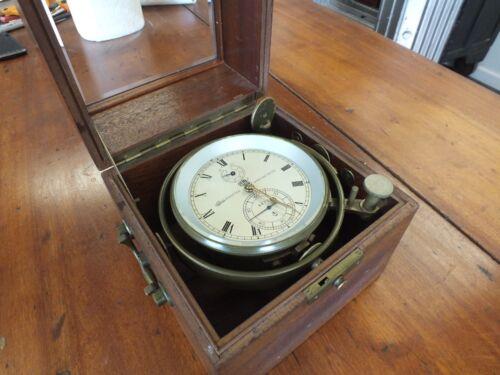 German Glashutter Marine Chronometer