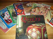 10 patchwork books & 2 boxes of material McLaren Flat Morphett Vale Area Preview
