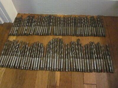 100 Morse Taper Mt1 Hss Twist Drill Tool Set Machinist Lathe Mill Cnc Many Nos