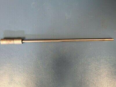 Eldorado Gun Drill .3025 1 Flute Coolant Through Carbide Tip