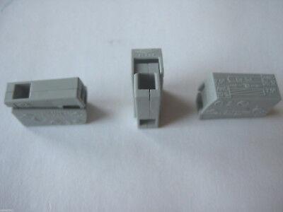 50 Stück  Wago Leuchtenklemmen 1x2,5 qmm 224-101