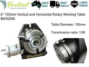 "Clearance 6""  Horizontal Vertical Rotary Table BM30266"
