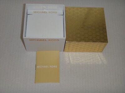 MICHAEL KORS JEWELRY Necklace GIFT BOX MK Monogram Size 3.1 in x 2.5 in x 3.1 in](Jewelry Gift Boxes Michaels)