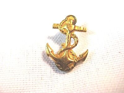 """VINTAGE US NAVY MIDSHIPMEN PIN-SMALL SIZE 5/8""""-VANGUARD-CLUTCHBACKS ARE INCLUDED"""