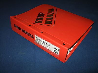 Daewoo Solar 400lc-iii Excavator Service Shop Repair Manual Book Sn 80-up