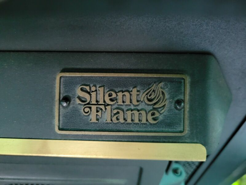 SILENT FLAME FIRE PLACE INSERT