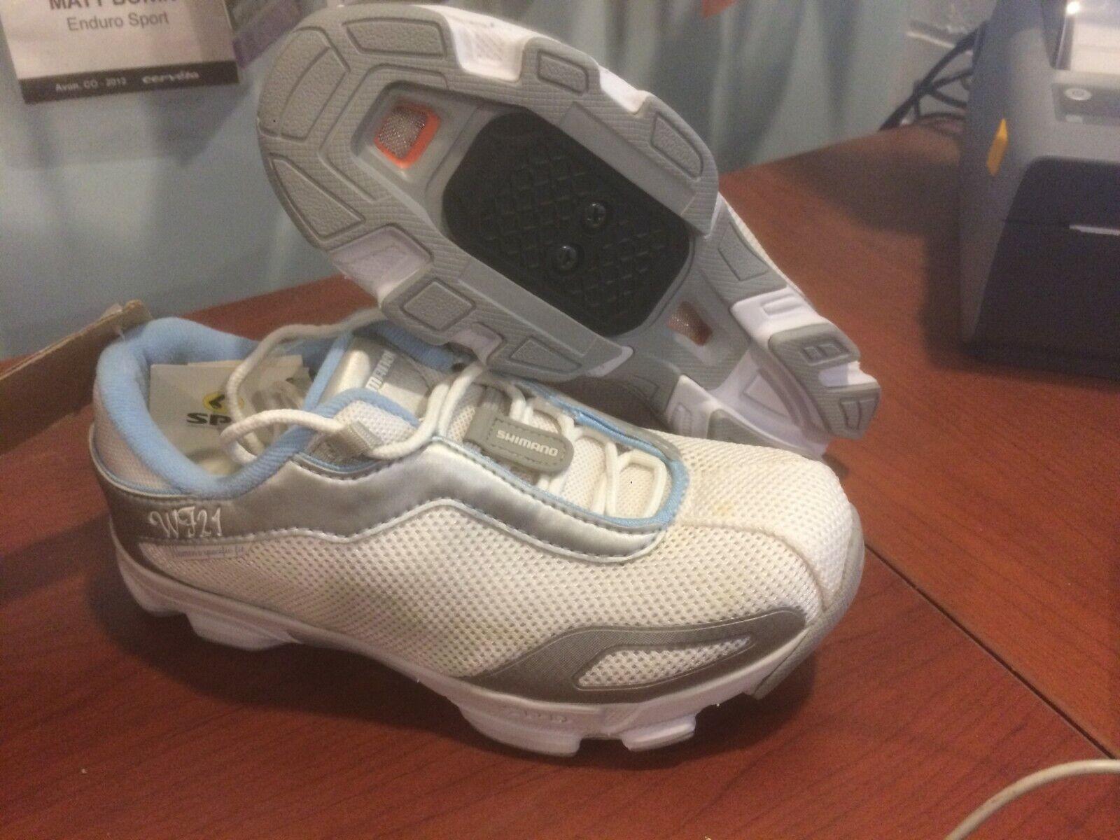 Shimano WF21 Spin or Mountain Bike Cycling Shoes, NEW, Women
