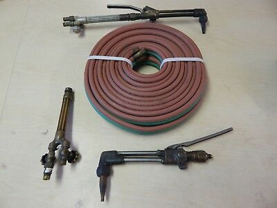 Victor Cutting Torch Handle Model 315c Oxygen Acetylene Torch Assembly E5