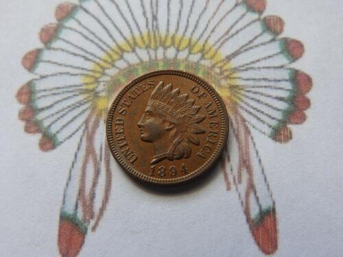 1894 Indian Head Cent  AU