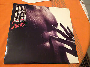 KOOL-THE-GANG-SWEAT-Orig-1989-US-Vinyl-Lp-MERCURY-POLYGRAM-EX-NM