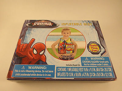 New Marvel Spider-Man Inflatable Vest Ages 3+