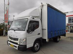 2007 Mitsubishi Fuso Canter 3.5t 6 pallet Curtinsider Old Guildford Fairfield Area Preview