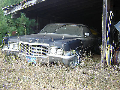 1970 Cadillac Deville  Restoration Project