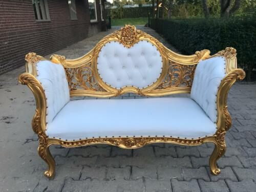 ANTIQUE BEAUTIFUL SOFA/SETTEE/COUCH/LOVE SEAT IN FRENCH LOUIS XVI