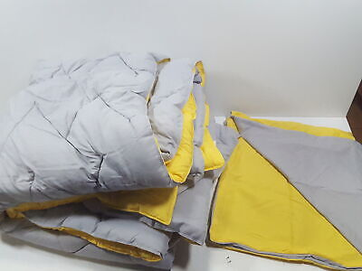 Intelligent Design Trixie Reversible Down Set, King/Cal King, Yellow/Grey