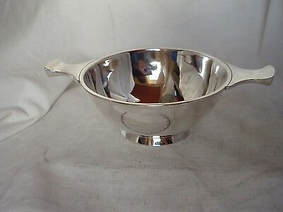 Used, MARRIAGE QUAICH, TOASTING CUP STERLING SILVER SHEFFIELD 1924 for sale  Shipping to Canada