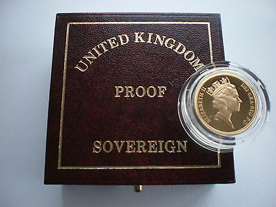 Royal Mint UK GOLD PROOF SOVEREIGN 1983 to 1999 - Choose your year