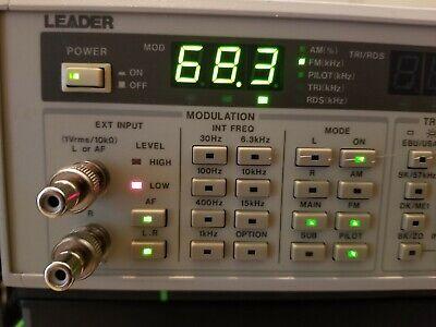 Leader 3217 Rdsfm Stereo Signal Generator