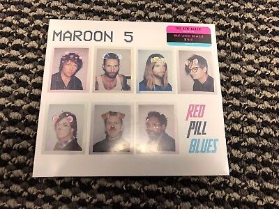 Maroon 5 Red Pill Blues 2017 Cd   Brand New Factory Sealed Free Shipping