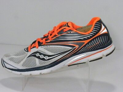 Saucony 20197-1 Flexfilm Kinvara 4 Mens Black Sport Athletic Running Shoes US 13