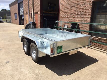 NEW 10x5 GALVANISED HEAVY DUTY TANDEM TRAILER Rosebud West Mornington Peninsula Preview