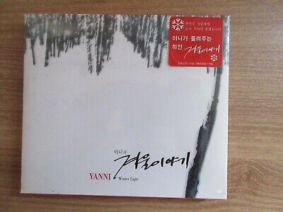 Yanni – Winter Light Korea Promo CD SEALED NEW RARE