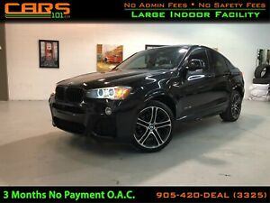2015 BMW X4 Nav|M-Sport|XDRIVE35i|Memory Seats|360 Camera|AWD