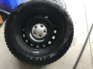 Ram 1500 blizzak snow tires on rims 275-60-20 winter