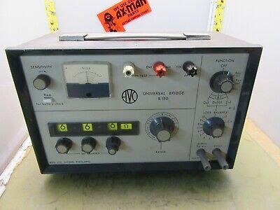 Avo B.150 Universal Bridge Impedance Resistance Inductance 4j-12