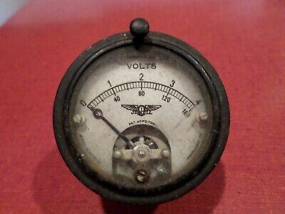 Vintage Jewell Volt Meter Pattern No.135 Steampunk