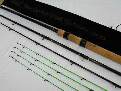 SHAKESPEARE TEAM CARBON MULTI TIP 12' FEEDER ROD match bream roach fishing setup