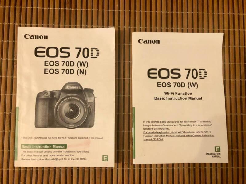 Canon Eos 70d Pdf