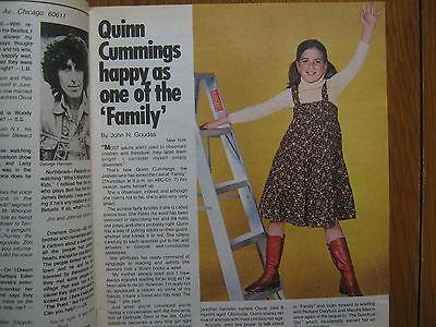 November  26  1978 Chicago Tribune  Tv  Week  Quinn  Cummings Family Sara  Miles