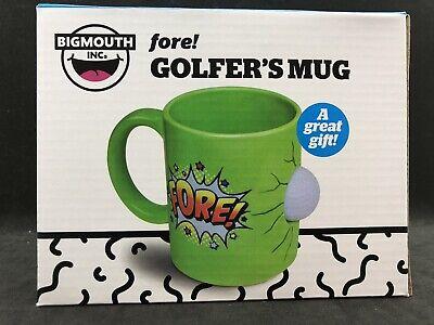Big Mouth Golfer