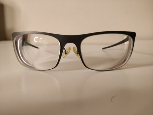 Google glass explorer edition titanium thin charcoal prescription frame sunshade