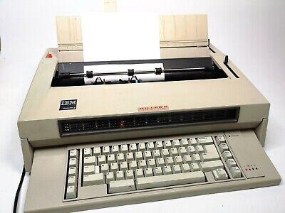 Vintage Ibm Wheelwriter 6 Type 674x Electronic Typewriter Works