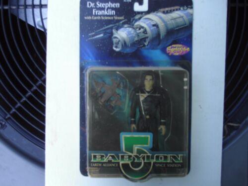 Babylon 5 - Dr. Stephen Franklin - Action Figure w/Earth Science Vessel