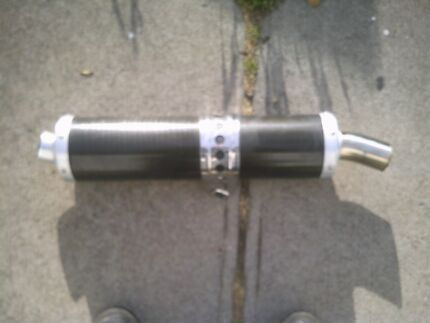 Yamaha R1 Muffler can fit any Suzuki. Honda. Kawasaki. Ducati.