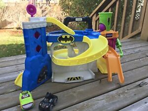 Batman and Joker playset