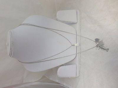 Riverdane Double Chain Necklace Silver Box46 71 HH