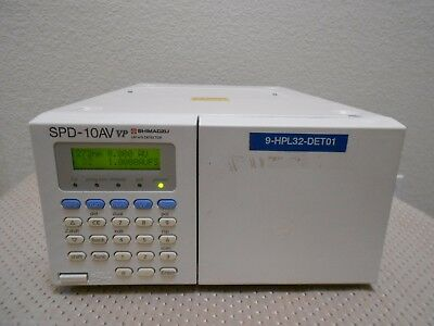 Shimadzu Spd-10av Vp Hplc System Uv Vis Detector Tested Nice Agilent Waters Hp