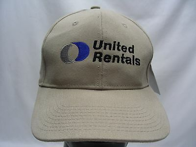 United Rentals   Adjustable Ball Cap Hat